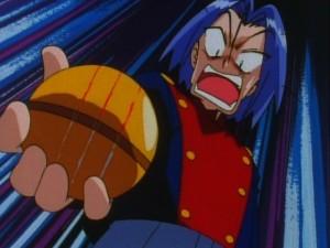 Magikarp's gold Pokéball