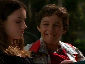 Even Stevens Shia LaBeouf as Louis Stevens and Margo Harshman as Tawny Dean