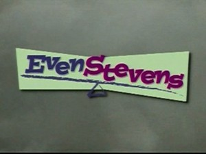 Even Stevens - Title screen