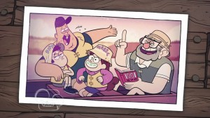 Gravity Falls - Fishing