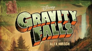 Gravity Falls title screen