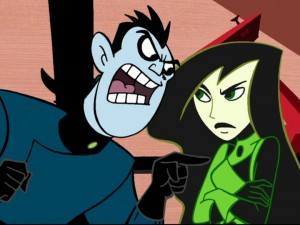 Kim Possible - John Di Maggio as Dr. Drakken and Nicole Sullivan as Shego