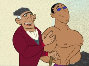 Kim Possible - Ricardo Montelbon as Senor Senior Sr. and Nestor Carbonell as Senor Senior Jr.