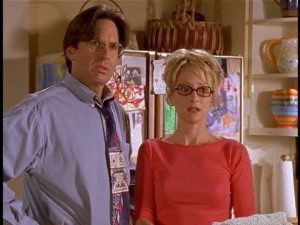 Lizzie McGuire - Robert Carradine and Hallie Todd as Lizzie's parents Sam and Jo McGuire
