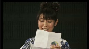 Sailor Moon 20th Anniversary live show - Kotono Mitsuishi reads a letter by Naoko Takeuchi