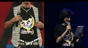 Sailor Moon 20th Anniversary live show - Toru Furuya lies about having a custom T-Shirt