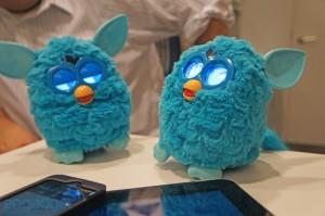 Two new Furbies dancing