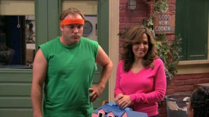 Wizards of Waverly Place - David Deluise as Jerry Russo, Maria Canals-Barrera as Theresa Russo