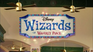 Wizards of Waverly Place - Title screen
