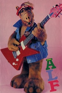 ALF rock and roll