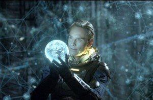 David in Prometheus - Michael Fassbender