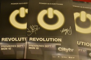 Glow in the dark Revolution posters