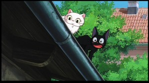 Kiki's Delivery Service - Jiji and his lover