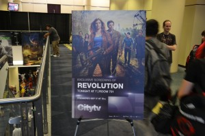 Revolution poster CityTV at Fan Expo