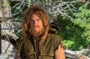 Savage island native Oliver Queen in Arrow