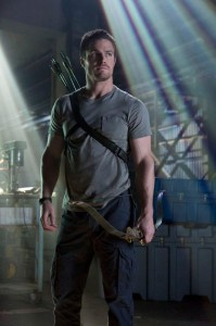 Stephen Amell is Oliver Queen in Arrow