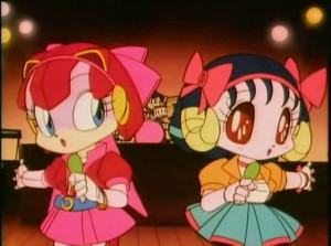 Samurai Pizza Cats - The Pointless Sisters Polly Esther and Lucile
