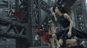 Final Fantasy VII: Advent Children - Yuffie and Tifa