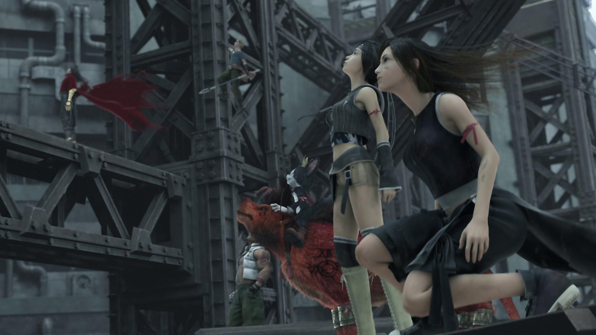 Final Fantasy VII  Advent Children - Yuffie and TifaFinal Fantasy Tifa Advent Children