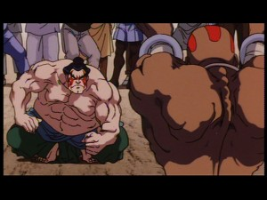 Street Fighter II: The Animated Movie - E. Honda and Dhalsim