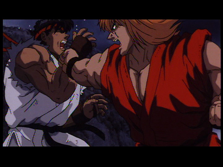 street fighter 2 animated movie english cast