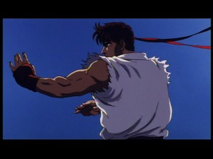 Street Fighter II: The Animated Movie - Ryu Training