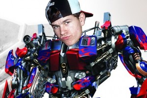 Marky Mark in Transformers 4