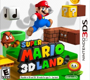 Super Mario 3D Land box