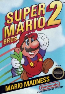 Super Mario Bros. 2 box