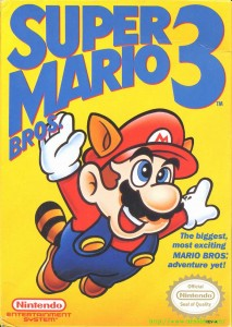 Super Mario Bros. 3 box