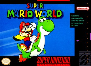 Super Mario World box