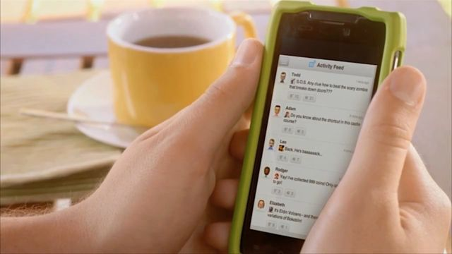 Social Media on Wii U Miiverse (Nintendo Direct)