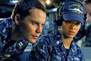 Battleship - Taylor Kitsch and Rihanna
