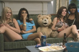 Ted with Prostitutes