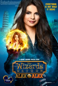 The Wizards Return poster - Selena Gomez as Evil Alex - Wizards of Waverly Place TV special