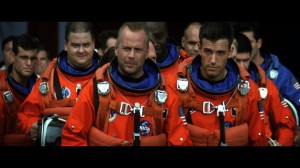 Michael Bay - Armageddon - Bruce Willis and Ben Affleck